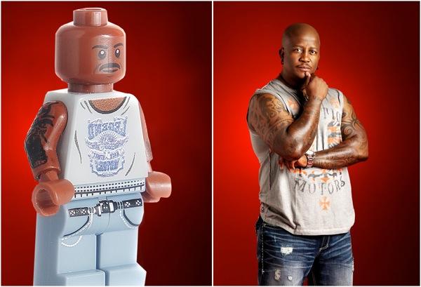 DJ Fresh 5FM Lego Minifigure