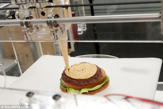 Now We're 3D Printing Food #FutureNow